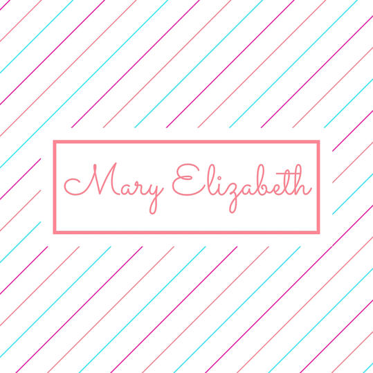 Double Name: Mary Elizabeth
