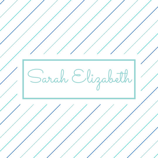 Double Name: Sarah Elizabeth