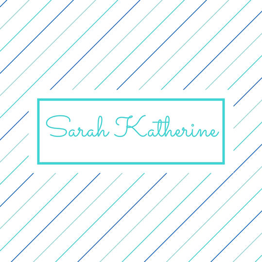 Double Name: Sarah Katherine