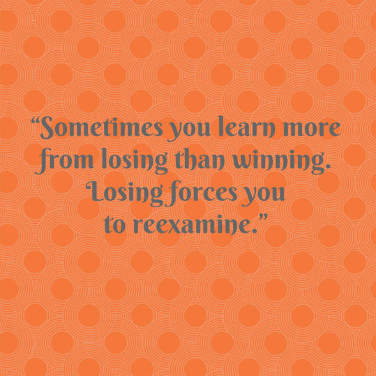 Pat Summitt on Losing