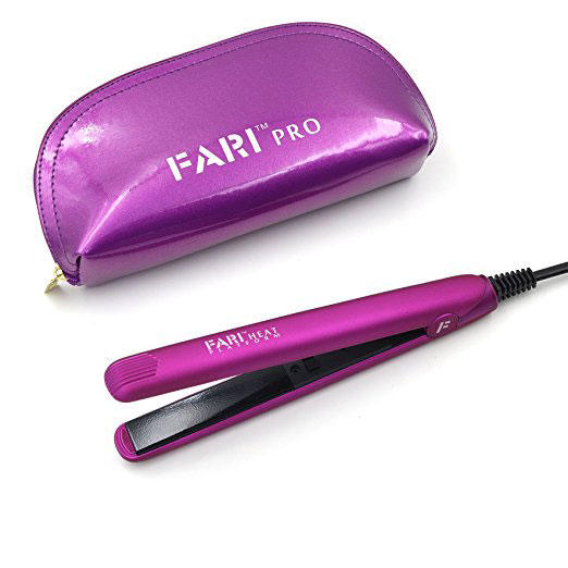 Mini Flat Iron with Travel Bag