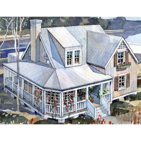 Southern Cottage House Plans: Our Best Beach House Plans For Cottage Lovers