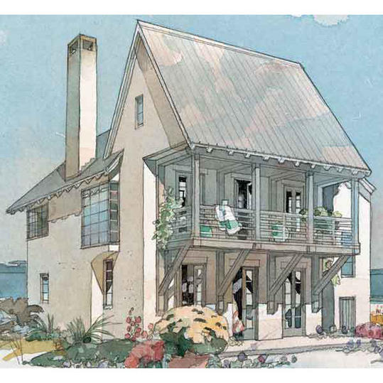 Coastline Cottage, Plan #426