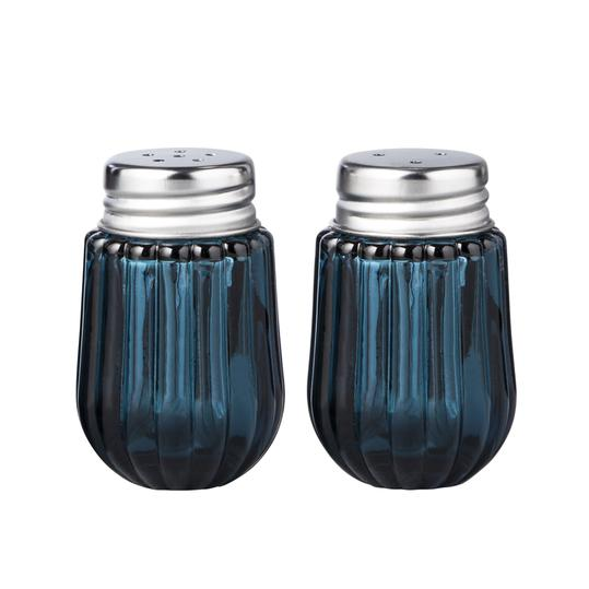 Hearth & Hand with Magnolia Blue Glass Salt and Pepper Shaker Set, $9.99
