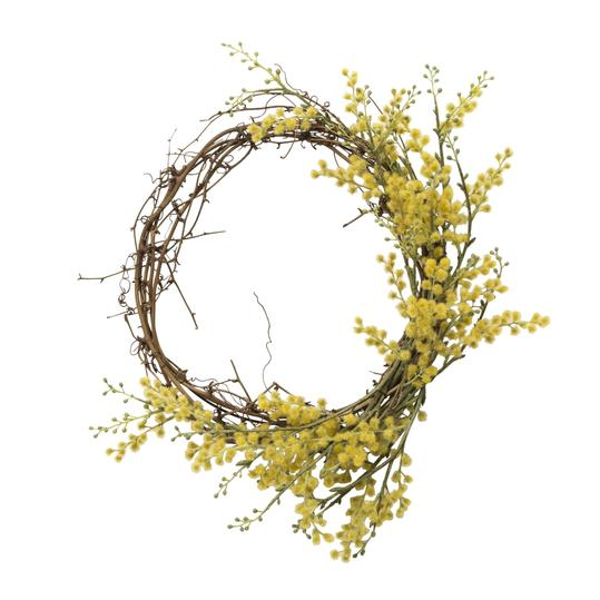 Hearth & Hand with Magnolia Faux Crespedia Wreath