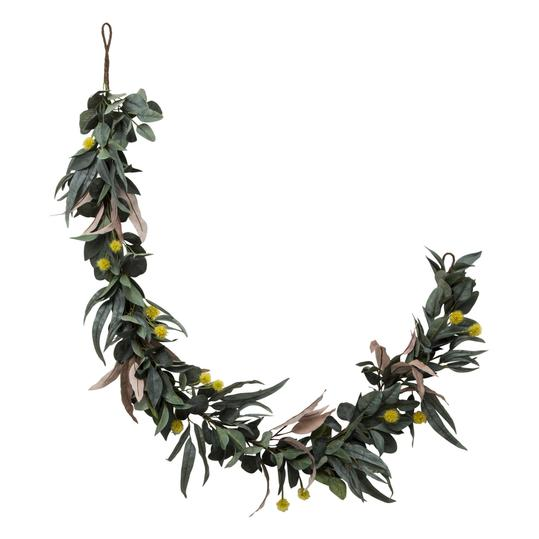 Hearth & Hand with Magnolia Faux Olive Leaf and Crespedia Garland