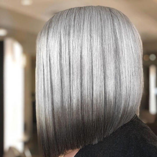 Long Angled Bob Haircuts That Prove Blunt Isnt Always Better
