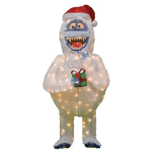 60 in. Rudolph 3D LED Bumble; $99