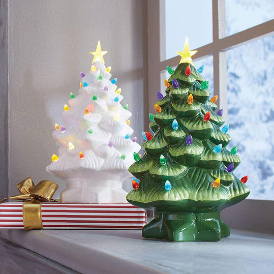 Ceramic Light-Up Trees