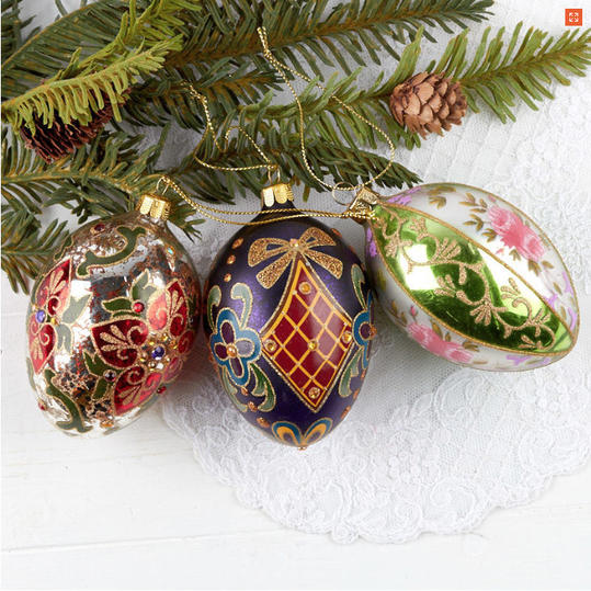 Faberge Egg Ornaments