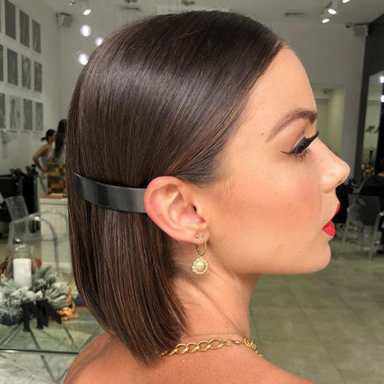 Pinned-Back Bob