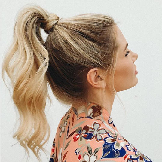 23 Pretty Ponytail Hairstyles That Prove Theyre Coming Back Big In