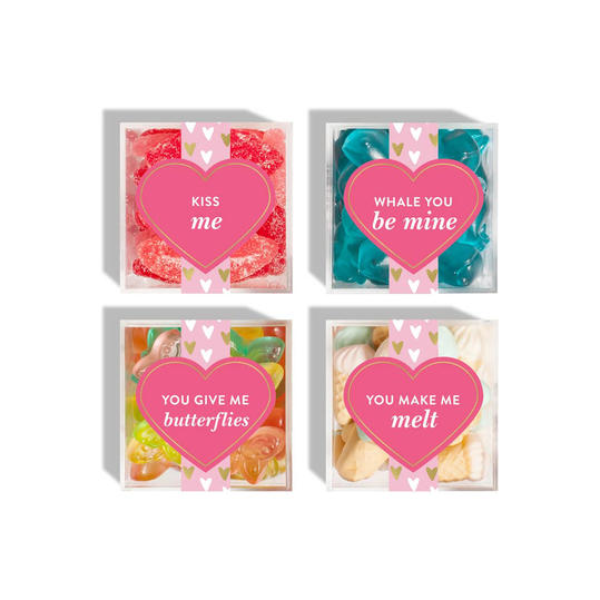 Sugarfina 4-Piece Conversation Candy Cubes