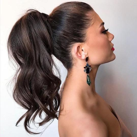 Glam Ponytail