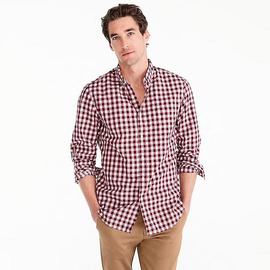 Gingham Button-Down