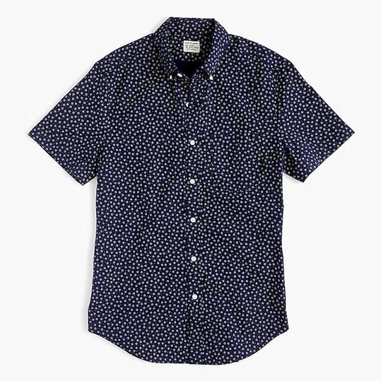 Print Short-Sleeve Shirt