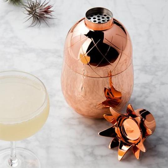 Apollo Box Pineapple Cocktail Shaker