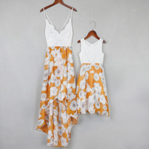 Sleeveless Floral Dresses