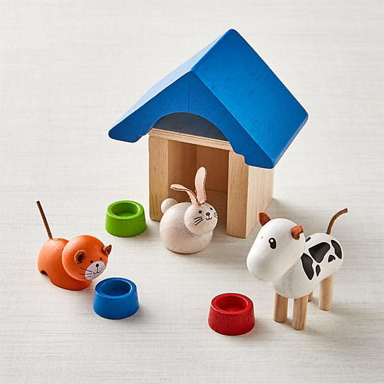 Dollhouse Pet and Accessories Set