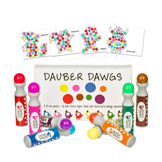 Dauber Dawgs Washable Dot Markers
