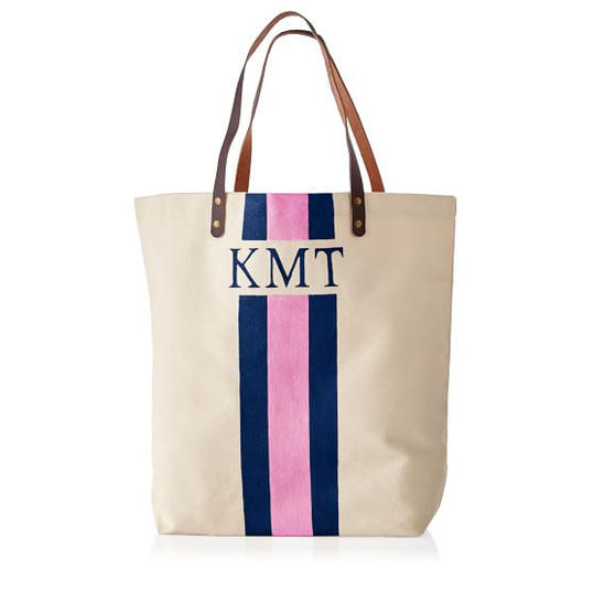 Hand-Painted Canvas Tote