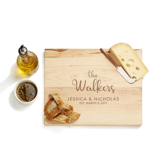 28 Collective Happy Couple Cutting Board