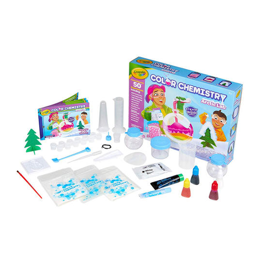 Crayola Artic Color Chemistry Set for Kids