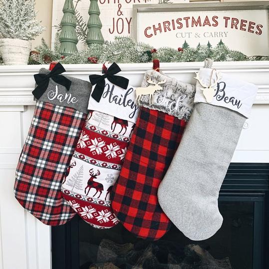 Personalized Christmas Stockings We Love Southern Living