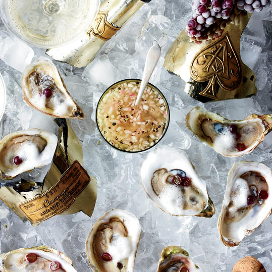 Oysters Rocafella