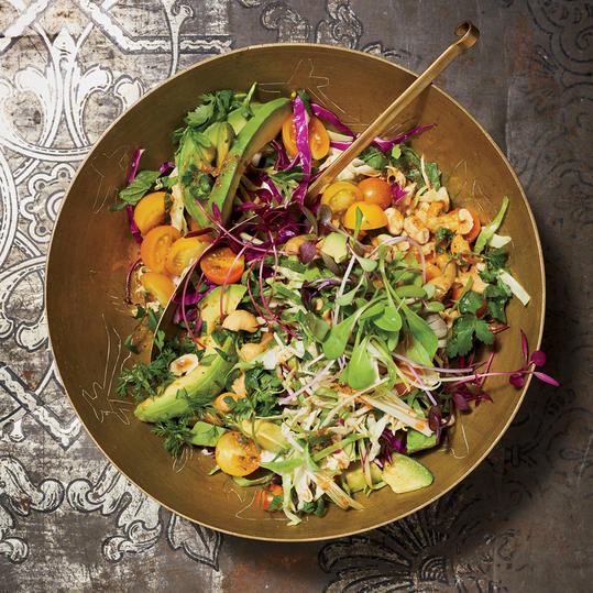 Avocado-and-Cabbage Slaw