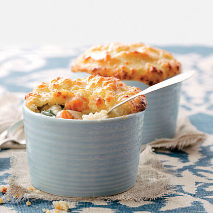Biscuit-topped Vegetable Pot Pies