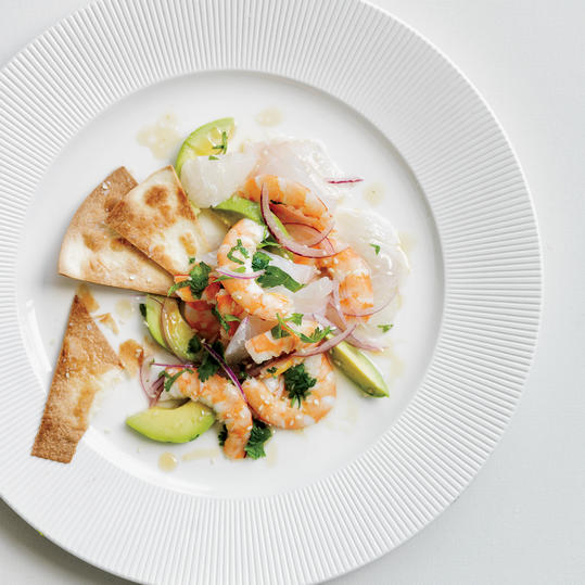 Red Snapper and Shrimp Ceviche