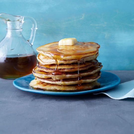 VANILLA CORNMEAL GRIDDLE CAKES