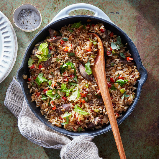 Duck Confit Dirty Rice