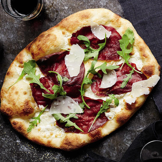 Monday: Bresaola, Arugula and Parmesan
