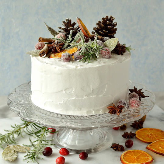 Gingered Christmas Fruitcake