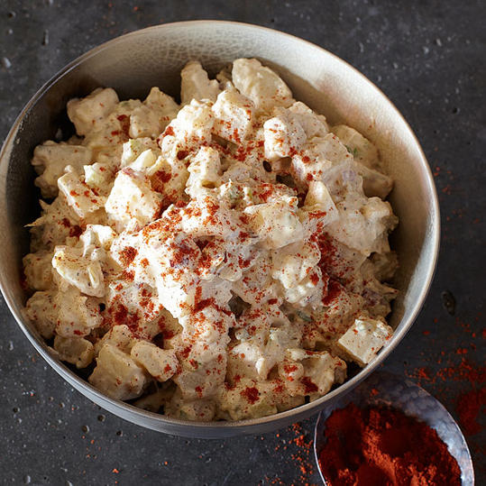 Potato Salad with Radishes and Sweet Pickle Relish