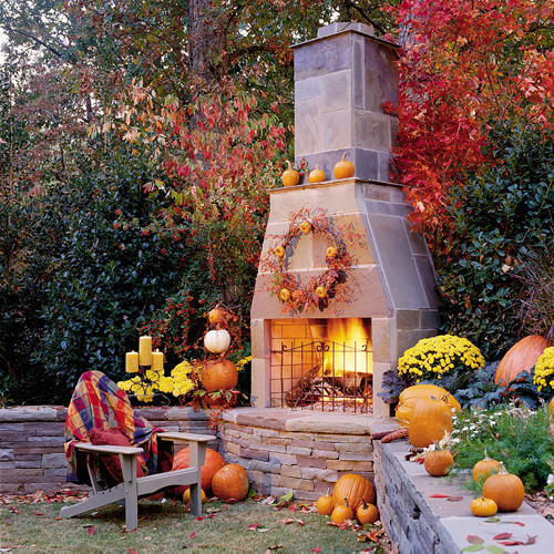 Autumn Yard Decorations: 25 Beautiful Outdoor Room Ideas For Fall And Beyond