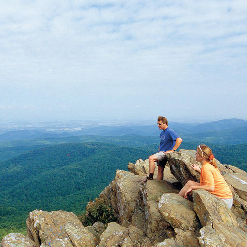 Virginia's Shenandoah Valley at Humpback Mountain