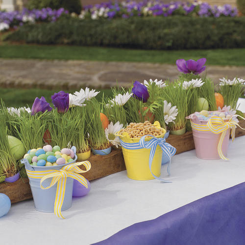 Kid Friendly Easter Table Setting