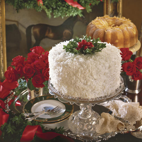 Our Showstopping Cakes Lemon Coconut Orange Cream Red