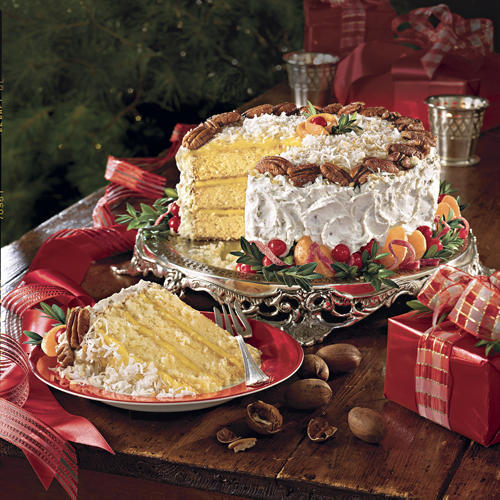 Southern Living Coconut Cake With Orange Curd Filling