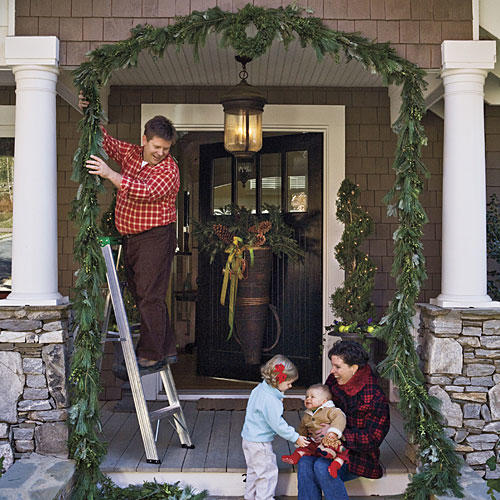 Festive Front Entry