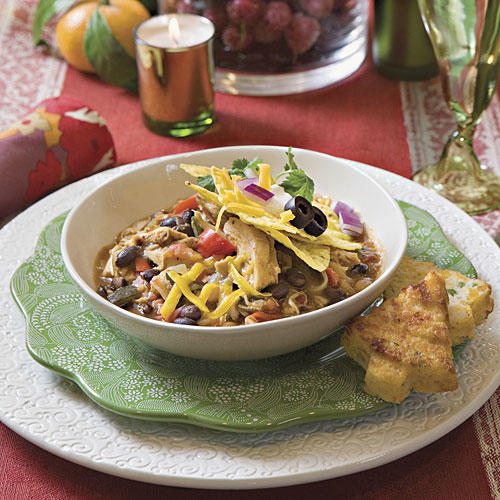 Hearty chili recipes southern living smoky chicken chili recipes forumfinder Gallery