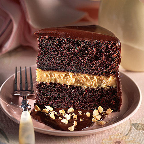 Chocolate Peanut Butter Mousse Cake Recipe Southern Living