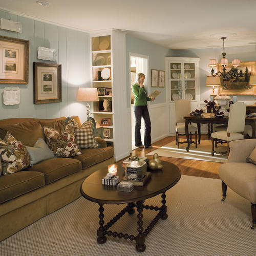 Lovely living rooms southern living for 9 x 10 living room