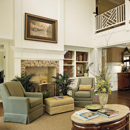 Southern Style Decorating Ideas From Southern Living: Lovely Living Rooms