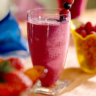 Four-Berry Smoothie Recipes