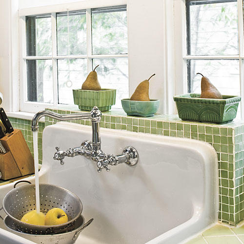 farmhouse sinks with vintage charm - southern living