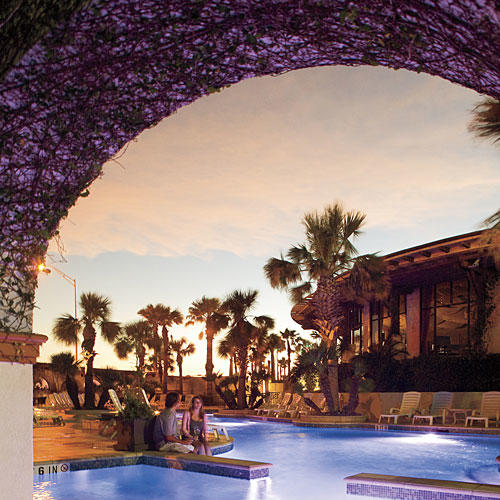 photo of pool at hotel galvez